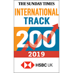 The Sunday Times HSBC International Track 200 2019 logo