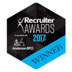 Recruiter Awards 2017 logo